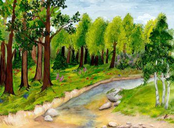 Загадки про деревья и кустарники с ответами для 2 класса