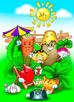 Загадки про сад и огород с ответами для школьников