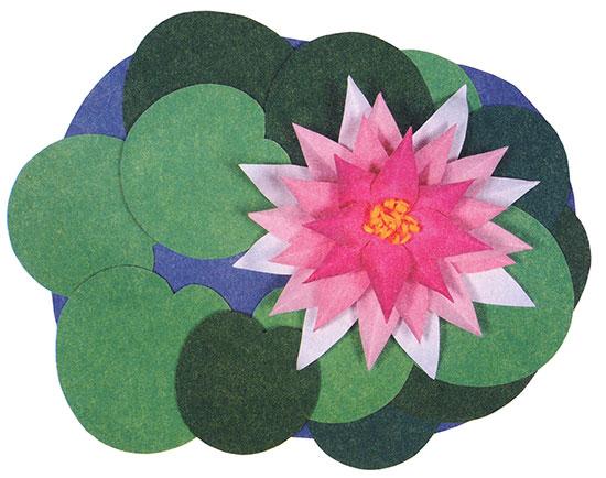 Лилии из цветной бумаги своими руками видео