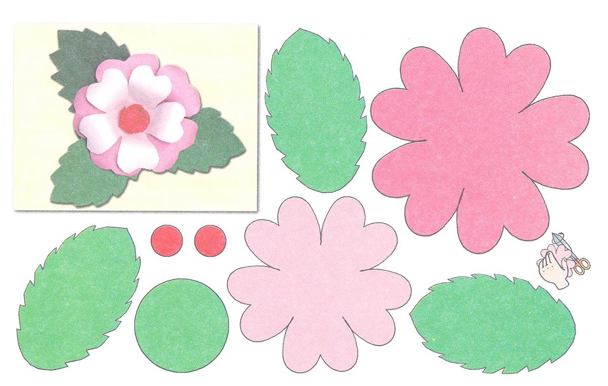 Аппликация из бумаги для детей шаблоны Tрафарет Pinterest 39