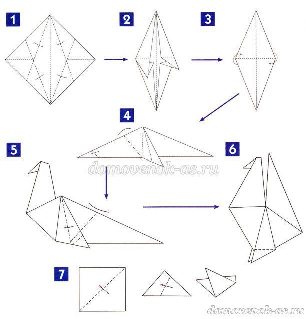 Оригами на новый год своими руками из бумаги оригами