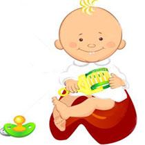 детские картинки с горшком
